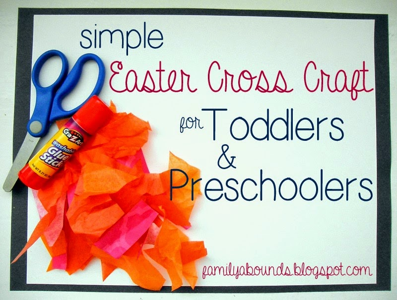 simple bible stories for preschoolers family abounds simple easter cross craft for toddlers and 270