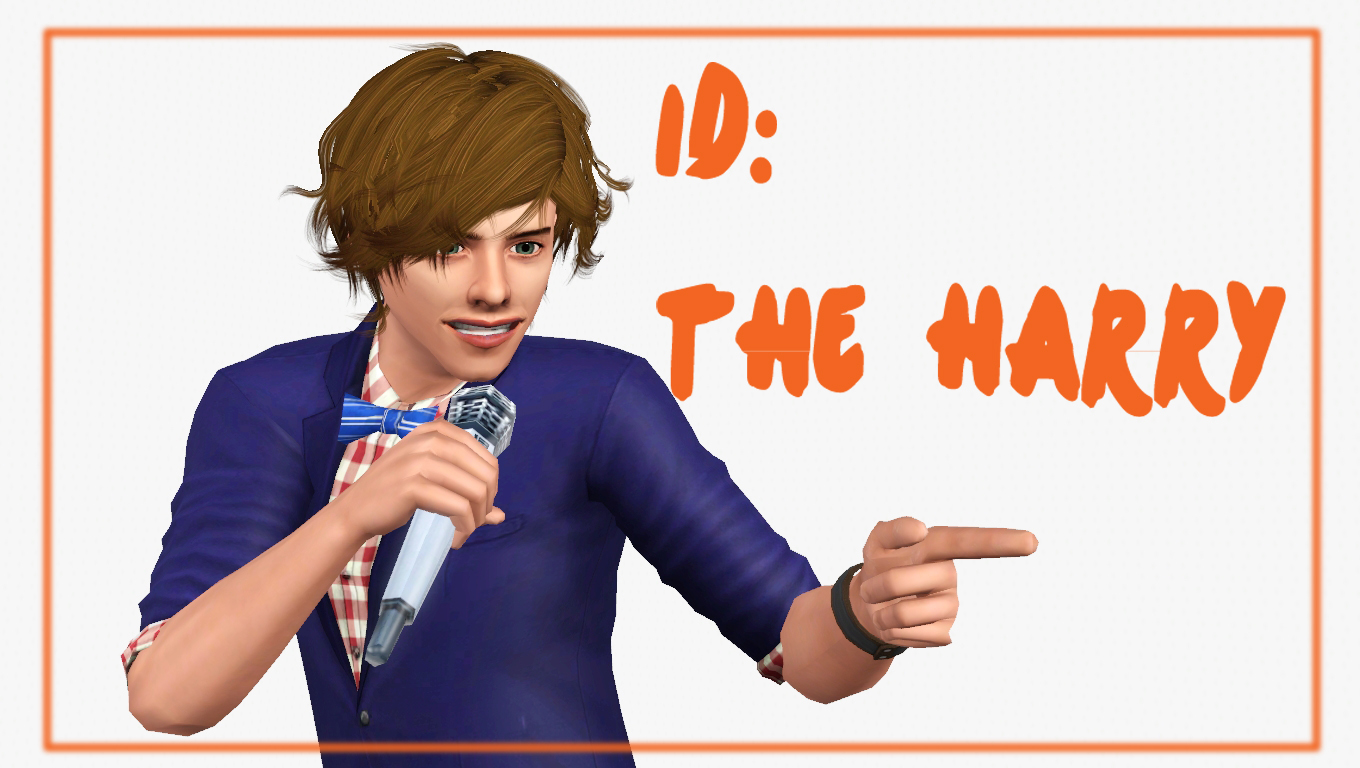 My sims 3 blog sims 3 collage wall decor by michelleab - 1d The Harry Top For Teen Adult Males By Omega