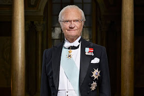 King Carl XVI Gustaf of Sweden is 70 today