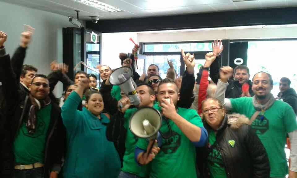 Pah acciones contra catalunya caixa para exigir for Oficinas caixa burgos