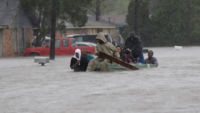 Inundaciones Louisiana por Huracán Isaac 30 de Agosto 2012