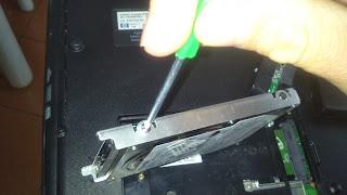 rimuovere hard disk