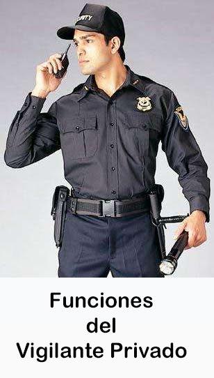 Funciones del Vigilante Privado