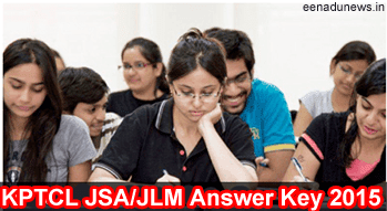 KPTCL JSA/JLM Exam Answer Key 3rd & 5th September 2015, KPTCL JSA JLM Exam Solved Key 2015, KPTCL Junior Lineman Answer Key 2015, KPTCL Junior Station Attendant Answer Key Sept 2015, KPTCL JSA JLM Exam Solved Question Paper Key 2015, Downloading KPTCL JSA Exam Key 2015
