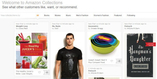 New Design For Amazon Collections