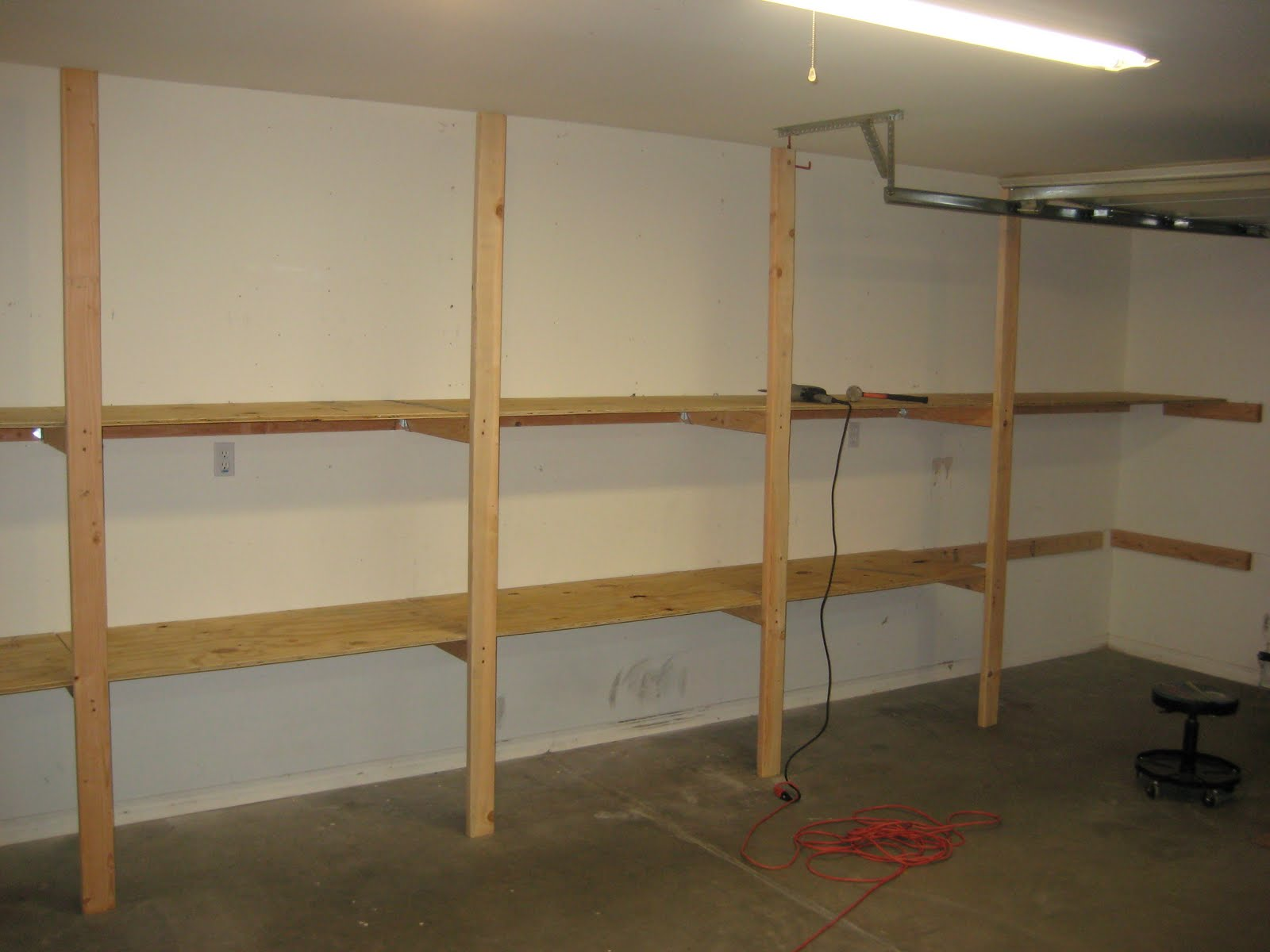 2x4 Shelves | www.woodworking.bofusfocus.com