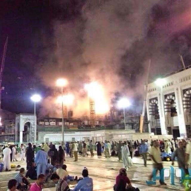 UPDATED Kebakaran di Makkah berhampiran Masjidil Haram