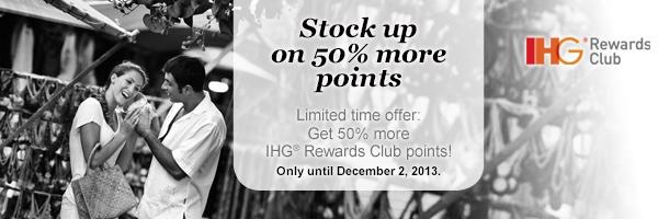 IHG Rewards Club promocja punktowa