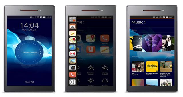 Ubuntu llega con sus propios Moviles