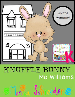 Friends~You have to LOVE Moe William's Knuffle Bunny lesson from The Schroeder Page photo of