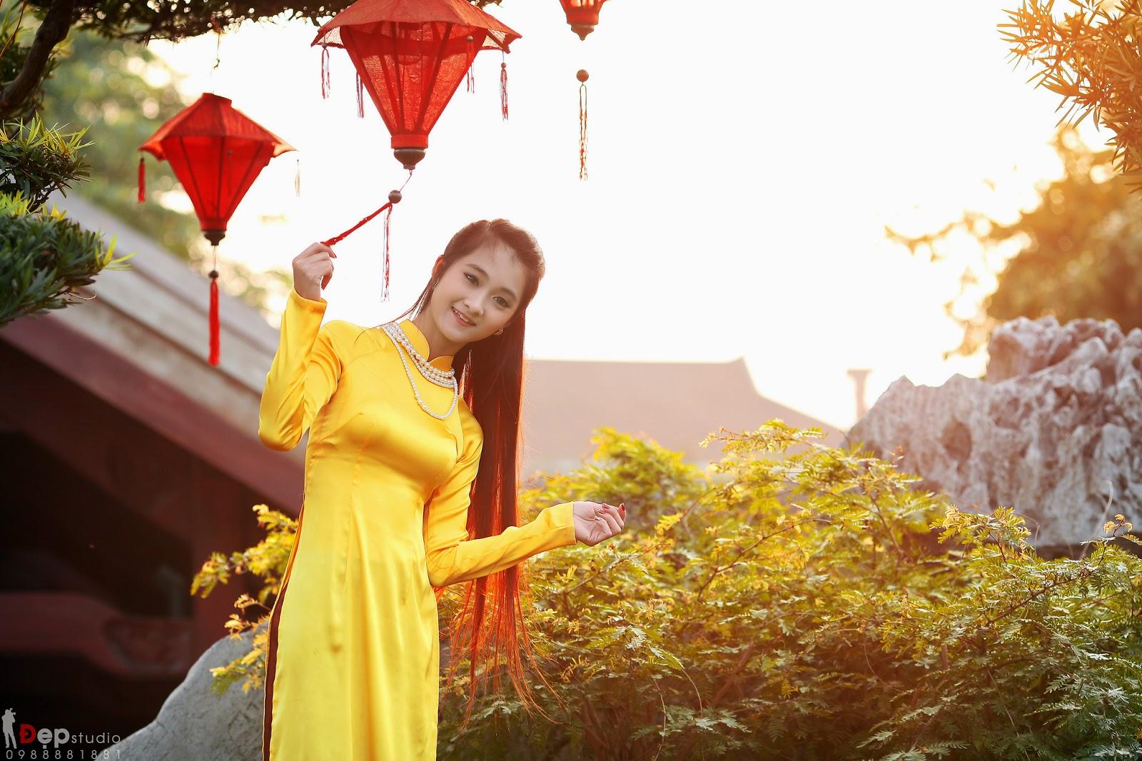 Ảnh đẹp girl xinh Áo dài truyền thống Việt Nam - Ảnh 32