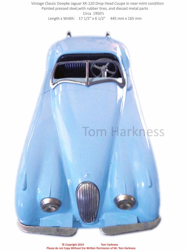Old Antique Toys: A Near-Mint 1950\'s Doepke Jaguar Car
