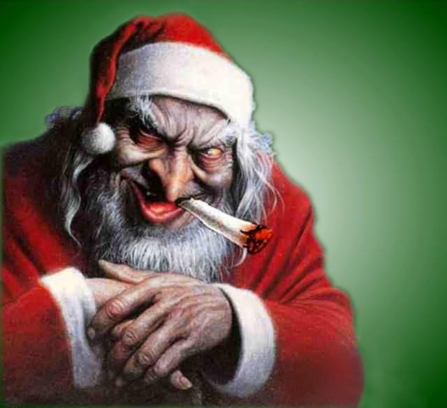 Père Noël destroy