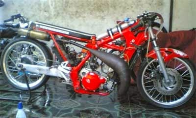 koleksi motor drak