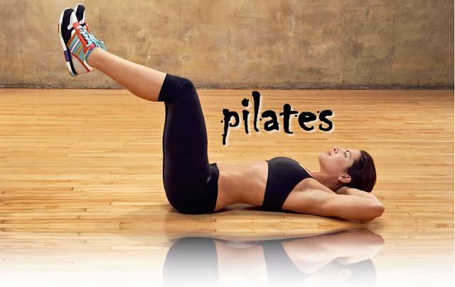 Ejercicio de Pilates realizado por Jillian Michaels