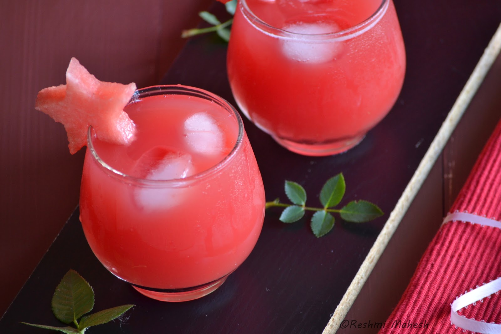 Easy Cook: Watermelon Juice/Grape juice
