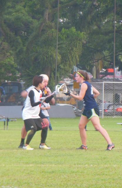 Lacrosse, Singapore Hong-Kong match, Padang, 20 April 2013, SLA, Brewerkz