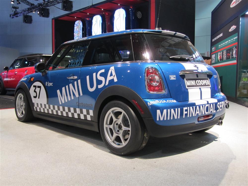 2012 MINI Cooper B-Spec race car