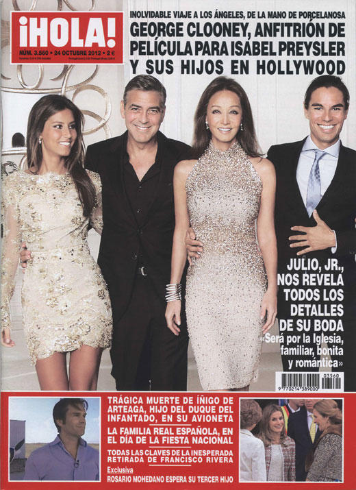 MY WORK FOR HOLA ESPAÑA (COVER)