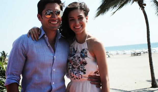 Daniel Elbittar y Melissa Barrera, protagonistas de la telenovela Siempre tuya... Acapulco 2014 | Ximinia