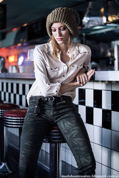Pantalones de jeans invierno 2014 Wrangler