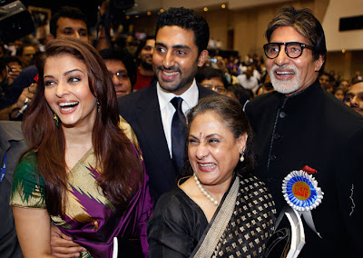 Aishwarya with Amitabh family photos