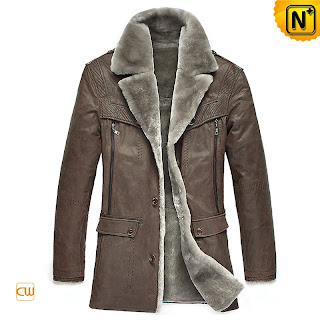 Sheepskin Shearling Fur Coat