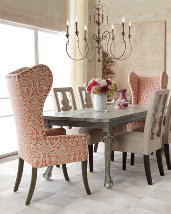dining room design ideas mixed seating driven by decor wilshire wood round oval dining table amp chairs in pine