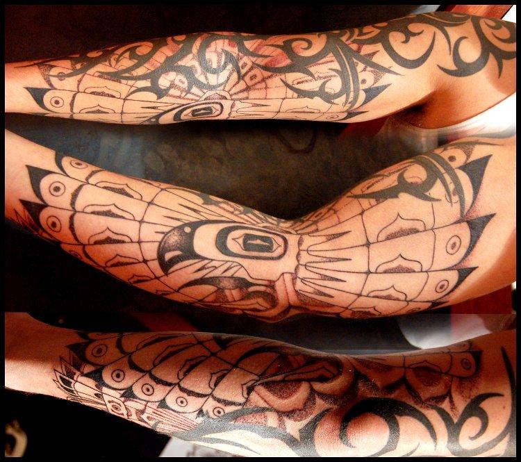 haida tattoo designs ideas images photos pictures popular tattoo designs. Black Bedroom Furniture Sets. Home Design Ideas