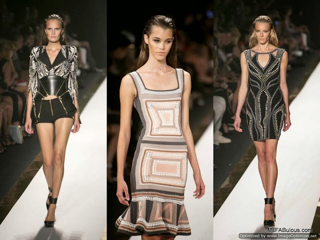 herve leger fashion show