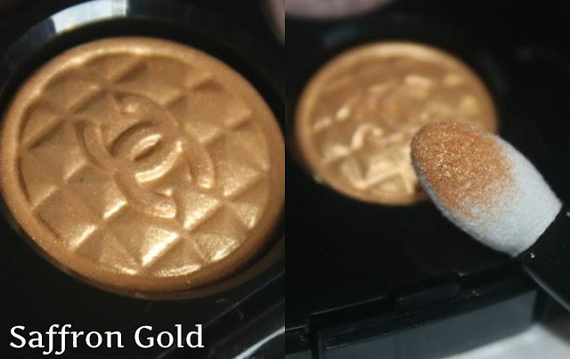 золотые тени для век
