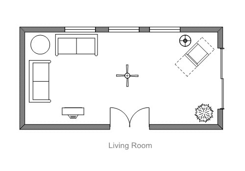 Homez deco kreative homez february 2012 for Lounge room floor plans