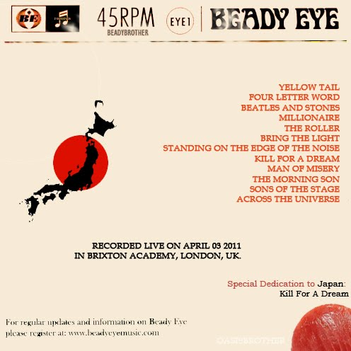 Beady Eye - Standing On The Edge Of The Noise Lyrics ...