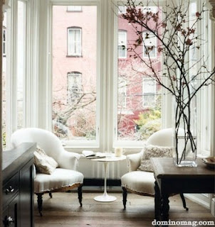 These gorgeous branches look stunning on this side table