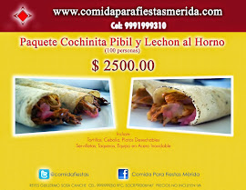 Paquete Cochinita Pibil