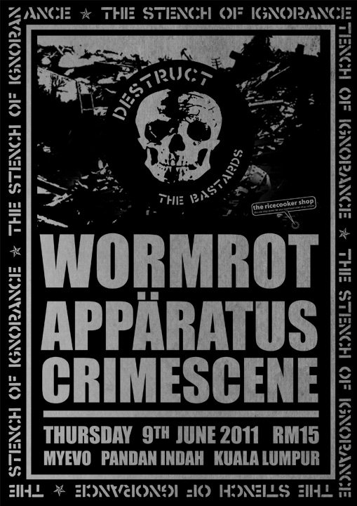 Event: Wormrot Apparatus Crimescene