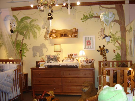 Themes for baby room for Animal decoration