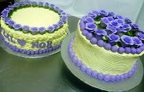 2-TIER WEDDING CAKE + 25 PCS CUPCAKE