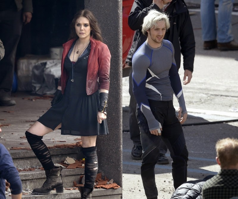 Pietro Wanda Avengers Age of Ultron