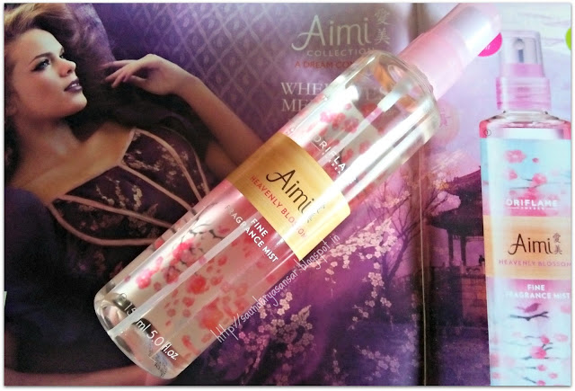Oriflame Sweden Aimi Fine Fragrance Mist- Heavenly Blossom Review