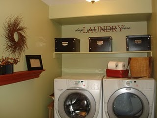 all about the cozy laundry rooms