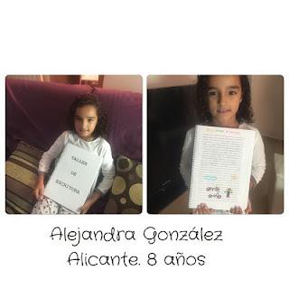 Alejandra González. Alicante. 8 años. Taller de escritura.