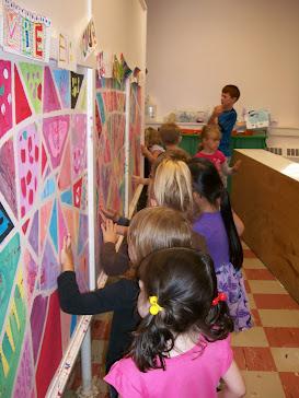 Mme. Marianne's Grade 4 Class Mural