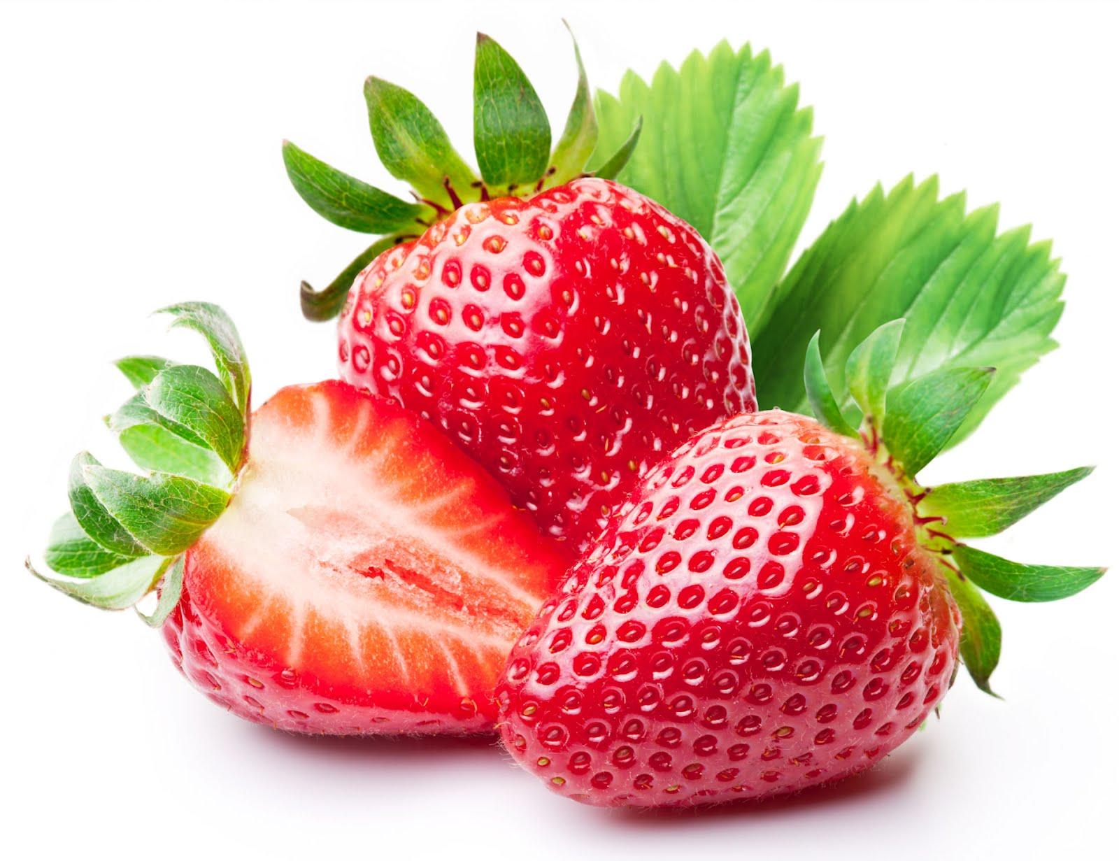 Fresas - Strawberries - Las frutas más ricas del mundo II