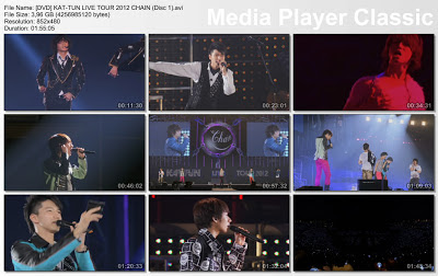 (DVD] KAT-TUN LIVE TOUR 2012 CHAIN (Disk 1+2],أنيدرا