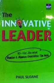 the innovative leader paul sloane beli buku murah rumah buku iqro toko buku online