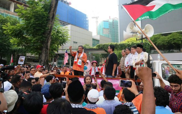 AMANAH PAKATAN HARAPAN IS 4 PALESTINE, AL QUDS; , BAITULMAQDIS (  JERUSALAM ) N MASJIDIL AQSA !