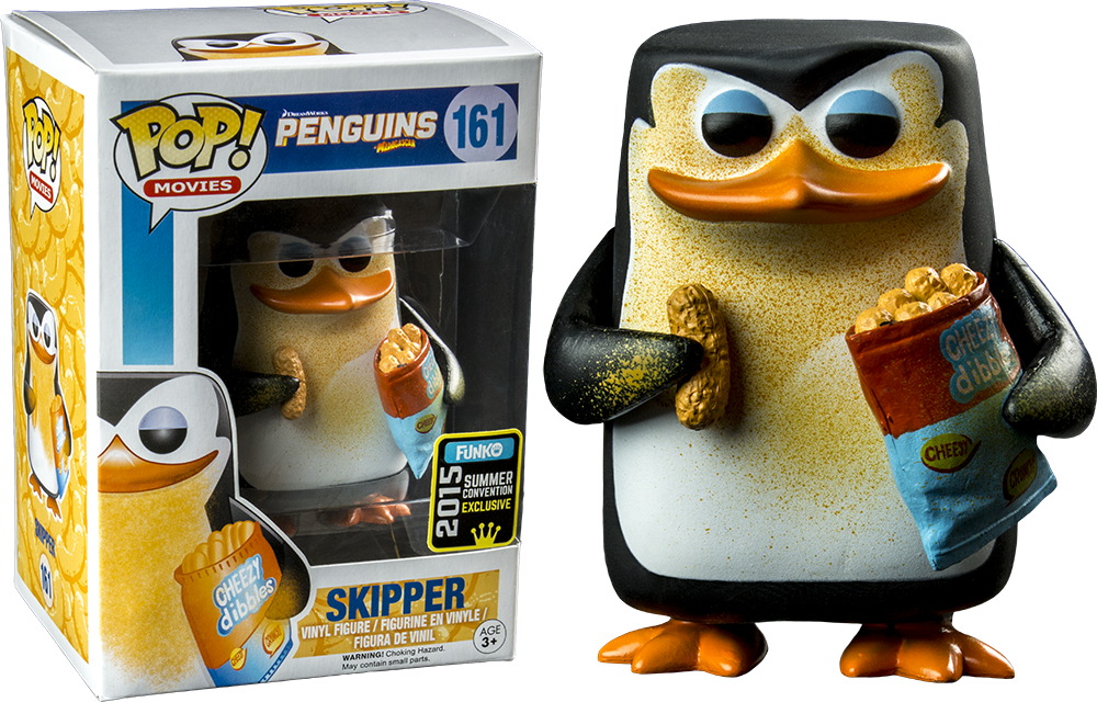 Penguins of Madagascar - Skipper Cheezy Pop! Vinyl Figure