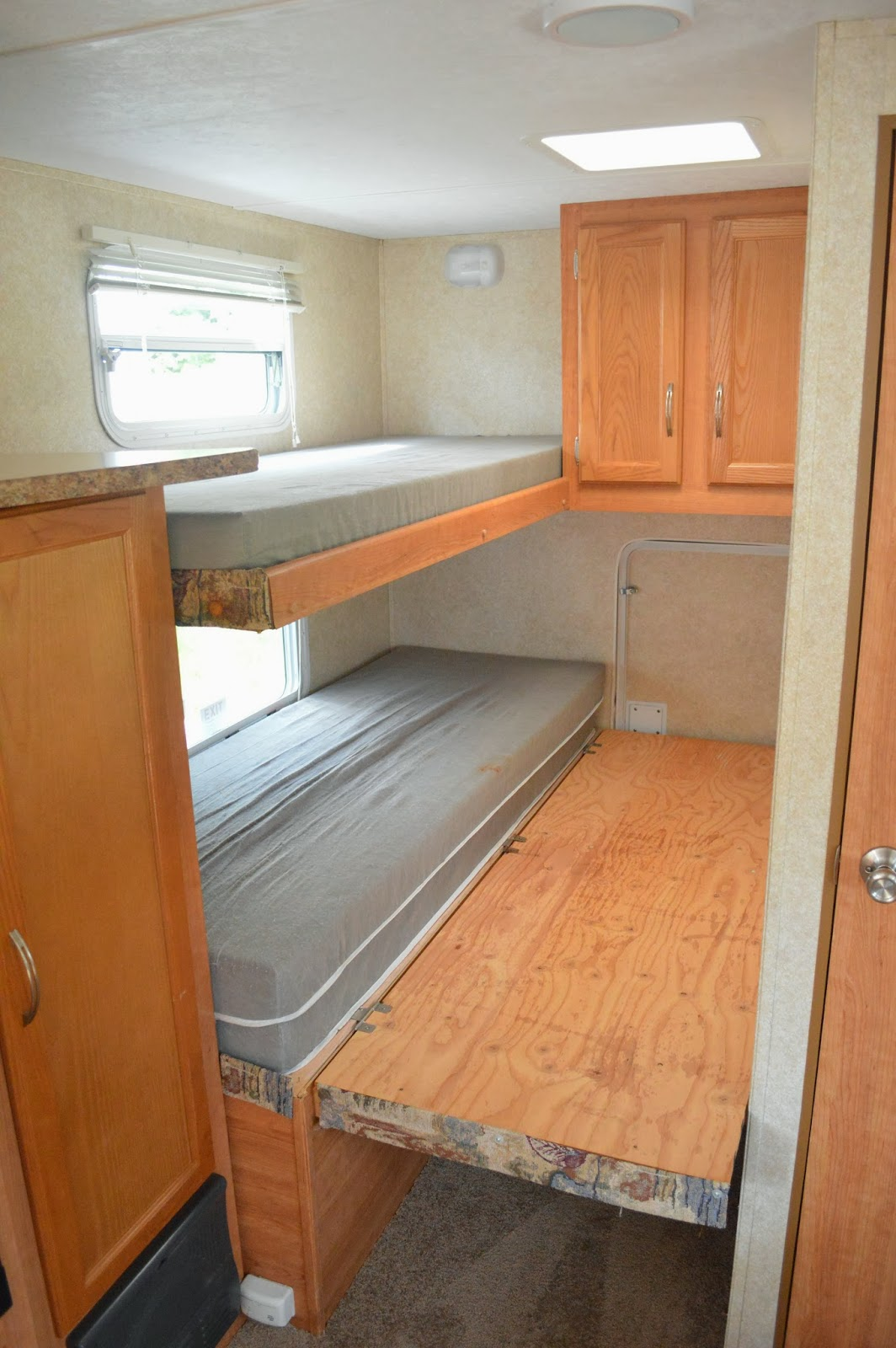 Traveling Triads Travel Trailer Remodel Reveal