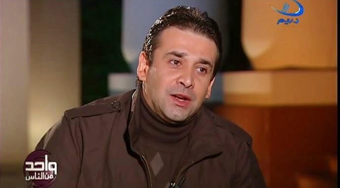 أول ظهور لابن الفنان كريم عبد العزيز